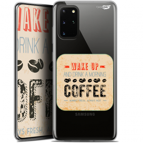 "Carcasa Gel Extra Fina Samsung S20+ (6.7"") Design Wake Up With Coffee"