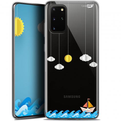 "Carcasa Gel Extra Fina Samsung S20+ (6.7"") Design Petit Bateau en Mer"