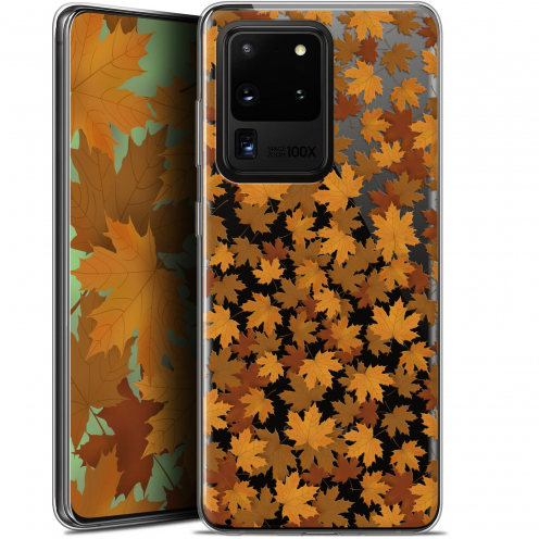 "Carcasa Gel Extra Fina Samsung Galaxy S20 Ultra (6.9"") Autumn 16 Feuilles"