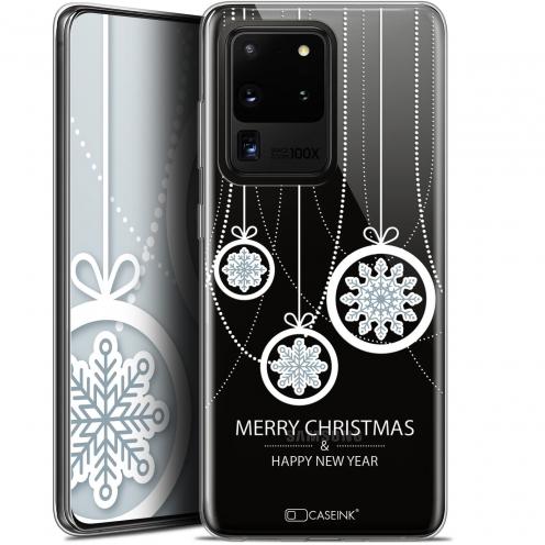"Carcasa Gel Extra Fina Samsung Galaxy S20 Ultra (6.9"") Noël 2017 Christmas Balls"