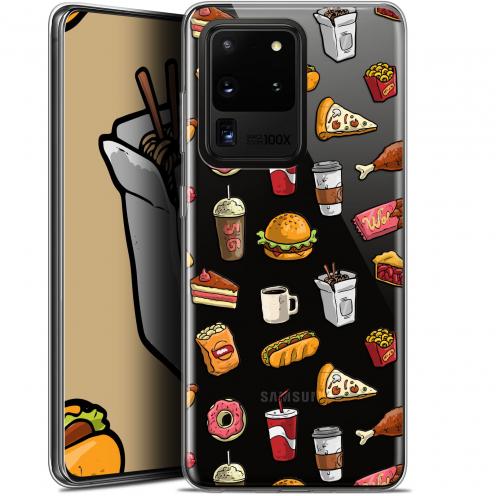 "Carcasa Gel Extra Fina Samsung Galaxy S20 Ultra (6.9"") Foodie Fast Food"