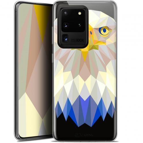 "Carcasa Gel Extra Fina Samsung Galaxy S20 Ultra (6.9"") Polygon Animals Águila"