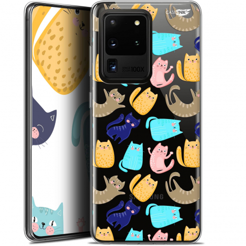 "Carcasa Gel Extra Fina Samsung Galaxy S20 Ultra (6.9"") Design Chat Danse"