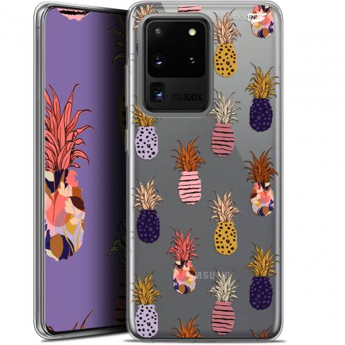 "Carcasa Gel Extra Fina Samsung Galaxy S20 Ultra (6.9"") Design Ananas Gold"