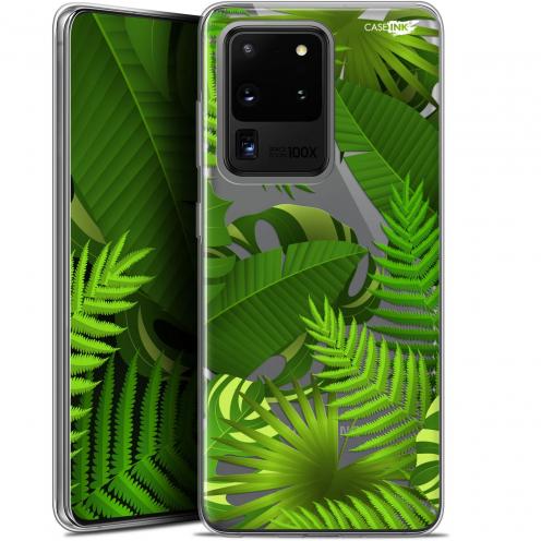 "Carcasa Gel Extra Fina Samsung Galaxy S20 Ultra (6.9"") Design Plantes des Tropiques"