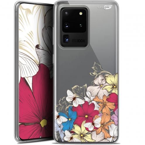 "Carcasa Gel Extra Fina Samsung Galaxy S20 Ultra (6.9"") Design Nuage Floral"