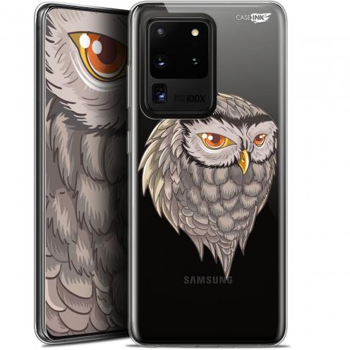"Carcasa Gel Extra Fina Samsung Galaxy S20 Ultra (6.9"") Design Hibou Draw"