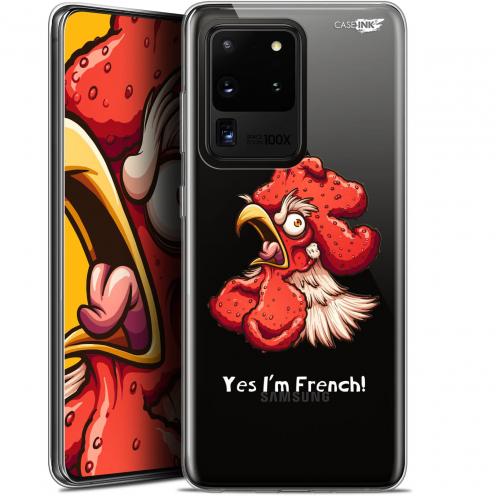 "Carcasa Gel Extra Fina Samsung Galaxy S20 Ultra (6.9"") Design I'm French Coq"