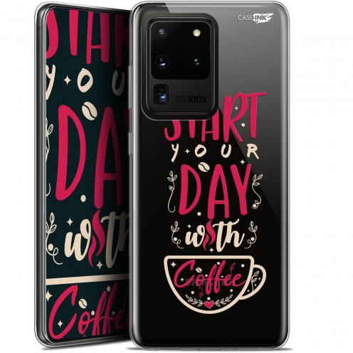 "Carcasa Gel Extra Fina Samsung Galaxy S20 Ultra (6.9"") Design Start With Coffee"