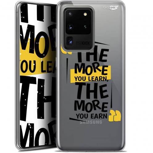 "Carcasa Gel Extra Fina Samsung Galaxy S20 Ultra (6.9"") Design The More You Learn"