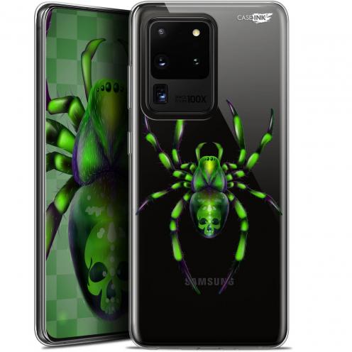 "Carcasa Gel Extra Fina Samsung Galaxy S20 Ultra (6.9"") Design Arraignée Verte"