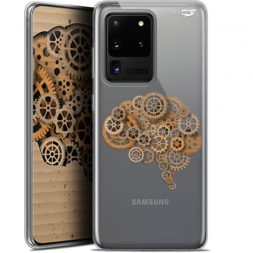 "Carcasa Gel Extra Fina Samsung Galaxy S20 Ultra (6.9"") Design Mécanismes du Cerveau"