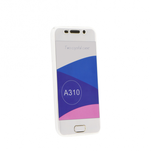 "360"" Ultra Slim Front+Back for Case Samsung Galaxy A20E transparent"