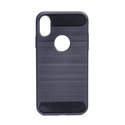 "Forcell CARBON Case for iPhone XS ( 5,8"" ) graphite"