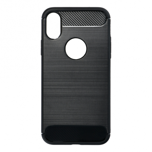 "Forcell CARBON Case for iPhone XS ( 5,8"" ) black"