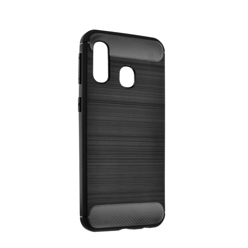 Forcell CARBON Case for Samsung Galaxy A70E black