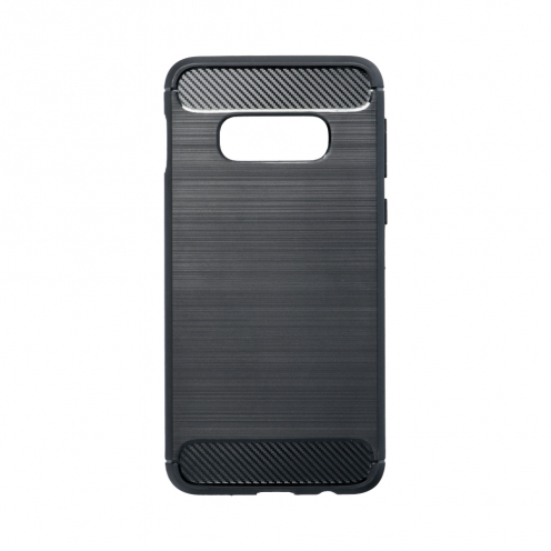 Forcell CARBON Case for Samsung Galaxy S10e black