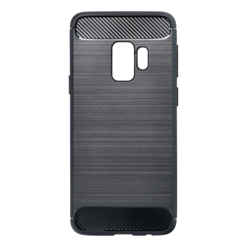 Forcell CARBON Case for Samsung Galaxy S9 black