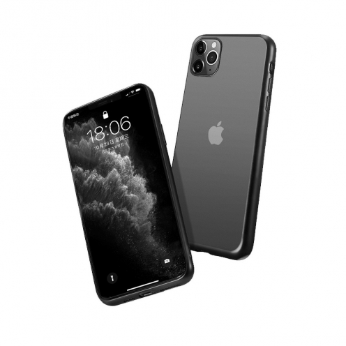 Forcell NEW ELECTRO MATT Case for iPhone 7 / 8 / SE 2020 black