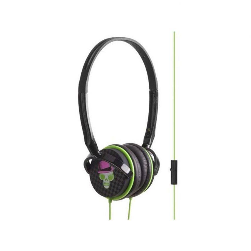Caja auriculares con mochila desmontable de parachoques Blueway ® tan Rock cráneo edición