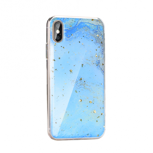 Forcell MARBLE Case for Huawei Y5P design 3