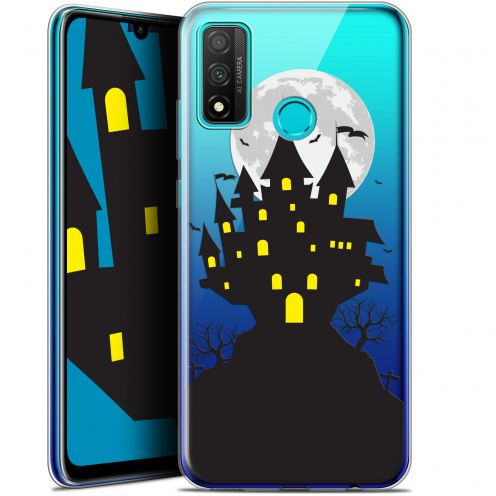 "Carcasa Gel Extra Fina Huawei P Smart 2020 (6.2"") Halloween Castle Scream"
