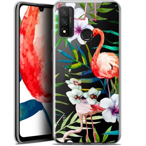 """Carcasa Gel Extra Fina Huawei P Smart 2020 (6.2"""") Watercolor Tropical Flamingo"""