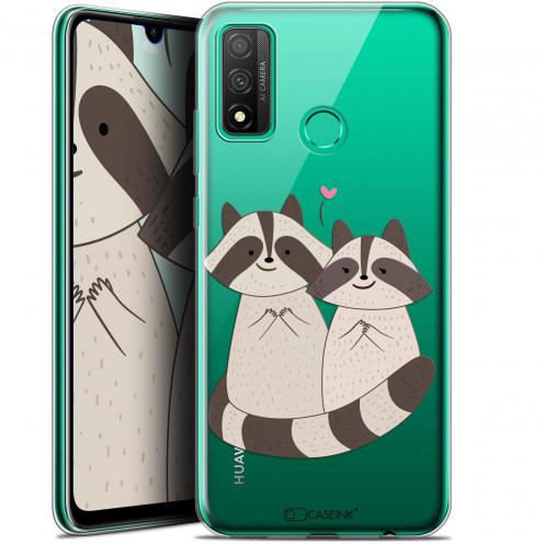 "Carcasa Gel Extra Fina Huawei P Smart 2020 (6.2"") Sweetie Racoon Love"