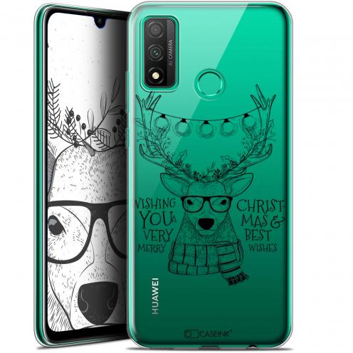 """Carcasa Gel Extra Fina Huawei P Smart 2020 (6.2"""") Noël 2017 Cerf Hipster"""