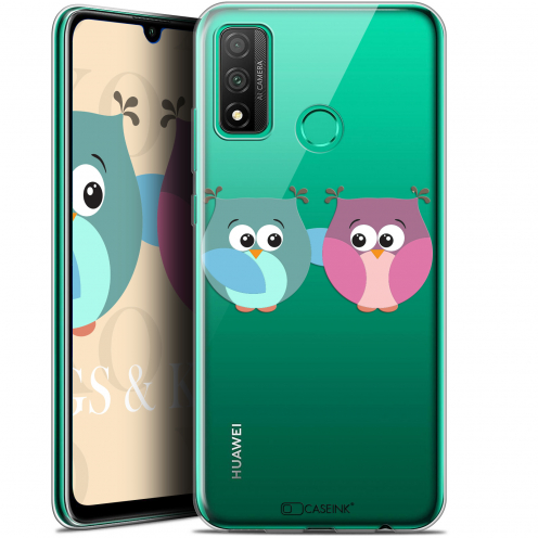 "Carcasa Gel Extra Fina Huawei P Smart 2020 (6.2"") Love Hibous à deux"
