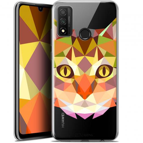 "Carcasa Gel Extra Fina Huawei P Smart 2020 (6.2"") Polygon Animals Gato"