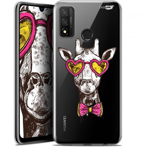 """Carcasa Gel Extra Fina Huawei P Smart 2020 (6.2"""") Design Hipster Giraffe"""