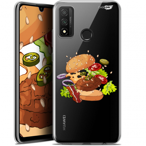 "Carcasa Gel Extra Fina Huawei P Smart 2020 (6.2"") Design Splash Burger"