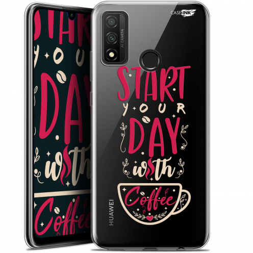 "Carcasa Gel Extra Fina Huawei P Smart 2020 (6.2"") Design Start With Coffee"