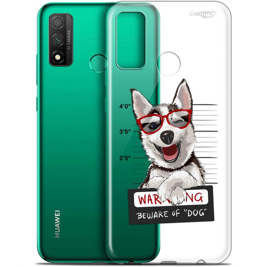 "Carcasa Gel Extra Fina Huawei P Smart 2020 (6.2"") Design Beware The Husky Dog"