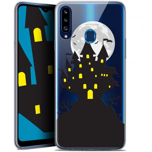 "Carcasa Gel Extra Fina Samsung Galaxy A20s (6.5"") Halloween Castle Scream"