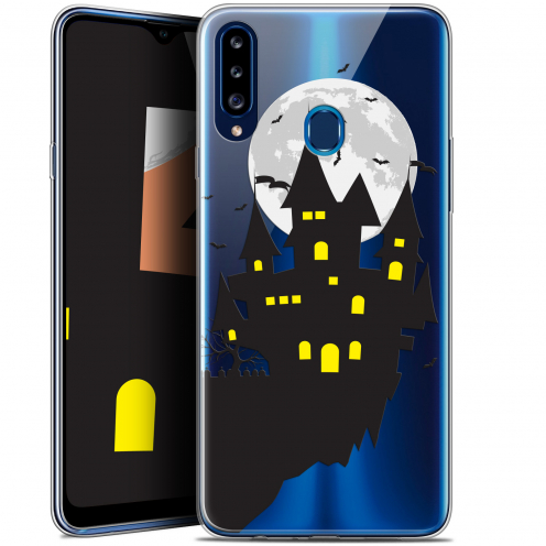 "Carcasa Gel Extra Fina Samsung Galaxy A20s (6.5"") Halloween Castle Dream"