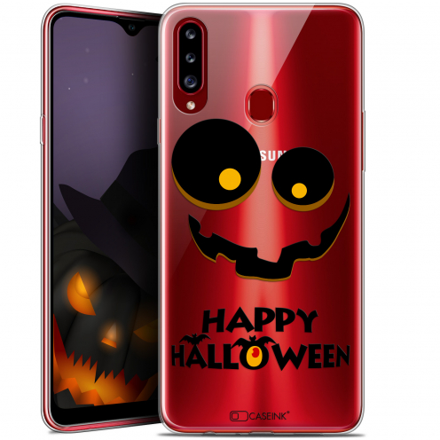 "Carcasa Gel Extra Fina Samsung Galaxy A20s (6.5"") Halloween Happy"