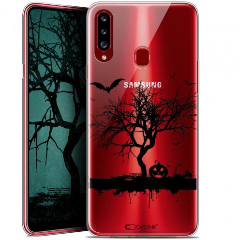 "Carcasa Gel Extra Fina Samsung Galaxy A20s (6.5"") Halloween Devil's Tree"