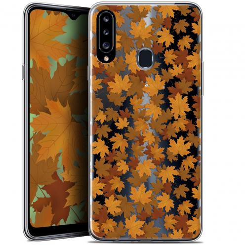 "Carcasa Gel Extra Fina Samsung Galaxy A20s (6.5"") Autumn 16 Feuilles"