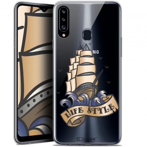 "Carcasa Gel Extra Fina Samsung Galaxy A20s (6.5"") Tatoo Lover Fashion"