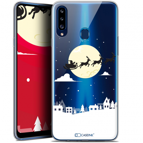"""Carcasa Gel Extra Fina Samsung Galaxy A20s (6.5"""") Noël 2017 Flying Stanta"""