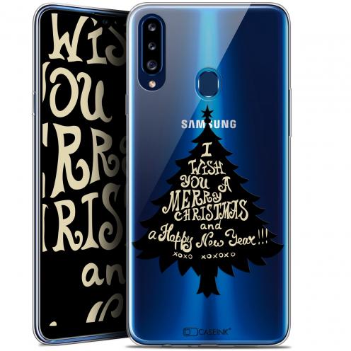 "Carcasa Gel Extra Fina Samsung Galaxy A20s (6.5"") Noël 2017 XOXO Tree"