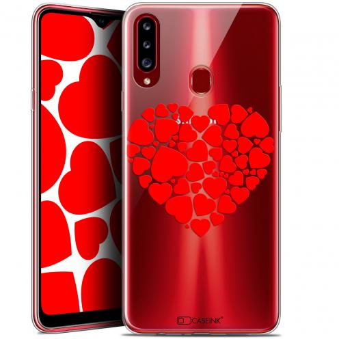 """Carcasa Gel Extra Fina Samsung Galaxy A20s (6.5"""") Love Coeur des Coeurs"""