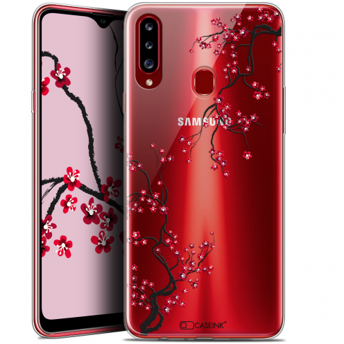 "Carcasa Gel Extra Fina Samsung Galaxy A20s (6.5"") Summer Sakura"