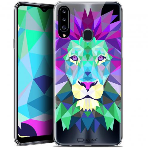 "Carcasa Gel Extra Fina Samsung Galaxy A20s (6.5"") Polygon Animals León"