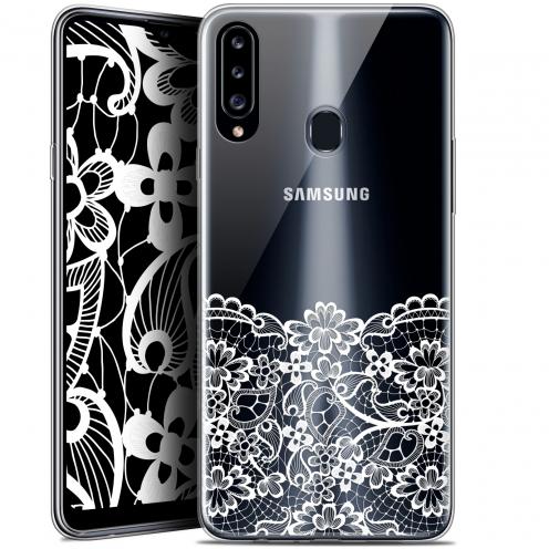 """Carcasa Gel Extra Fina Samsung Galaxy A20s (6.5"""") Spring Bas dentelle"""