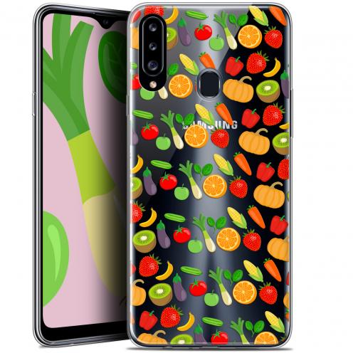 "Carcasa Gel Extra Fina Samsung Galaxy A20s (6.5"") Foodie Healthy"