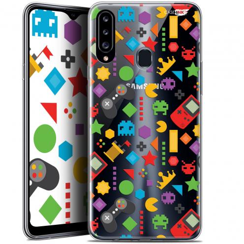 "Carcasa Gel Extra Fina Samsung Galaxy A20s (6.5"") Design PacMan"