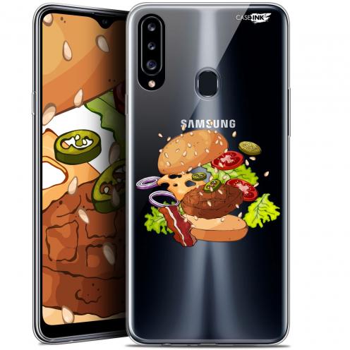 "Carcasa Gel Extra Fina Samsung Galaxy A20s (6.5"") Design Splash Burger"